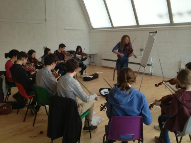 Ceol na Coille - fiddle class