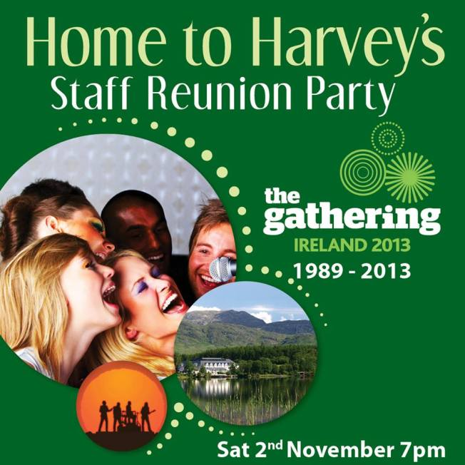 Home to Harvey's - Staff Reunion Party
