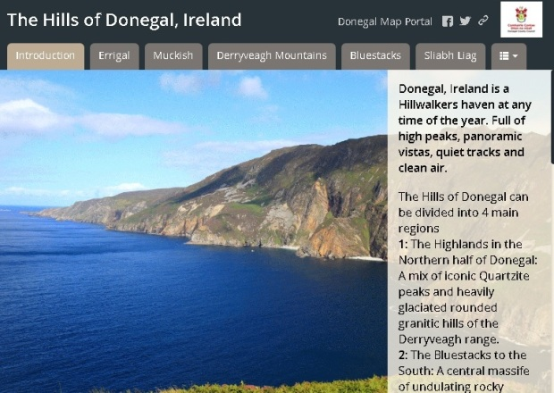 The Hills of Donegal Story Map 2