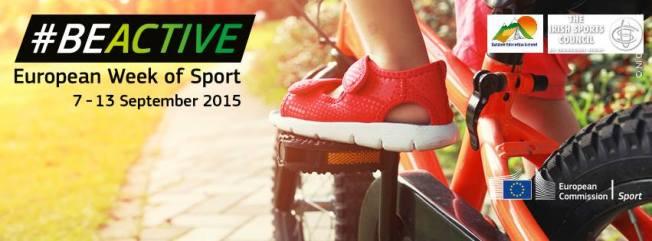 EU Week of sport 2015 banner