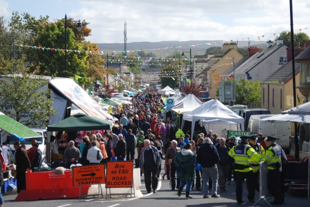 Glenties Harvest Fair banner