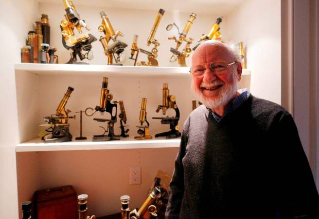 Profession Bill Campbell, Ireland's latest Nobel Laureate. Copyrights - Independent.ie