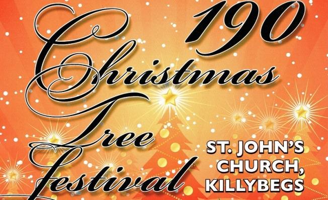 190 Christmas Tree Festival banner