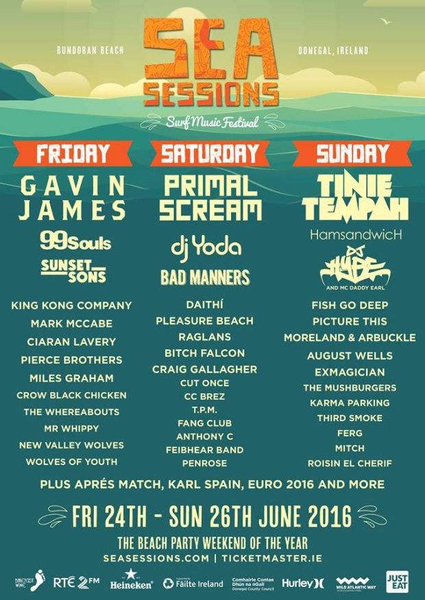 Sea Sessions 2016 poster