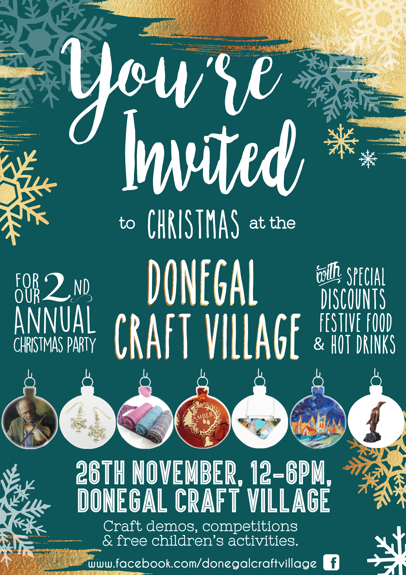 Christmas Craft Village   Donegal Gathering   Festivals & Events in the North West