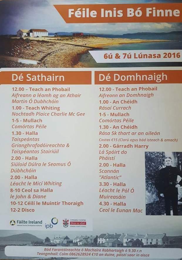 Inis Bó Finne Festival 2016