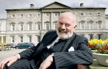 Senator David Norris. Photo courtesy of The Cathedral Quarter