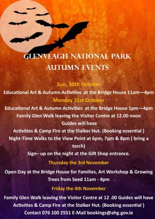 Glenveagh Educational Autumn Activities 2016