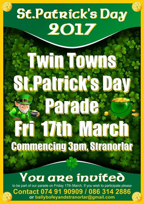 2017 St. Patrick's Day Parades in Donegal | Donegal ...