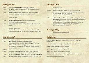 Programme of Events 2017