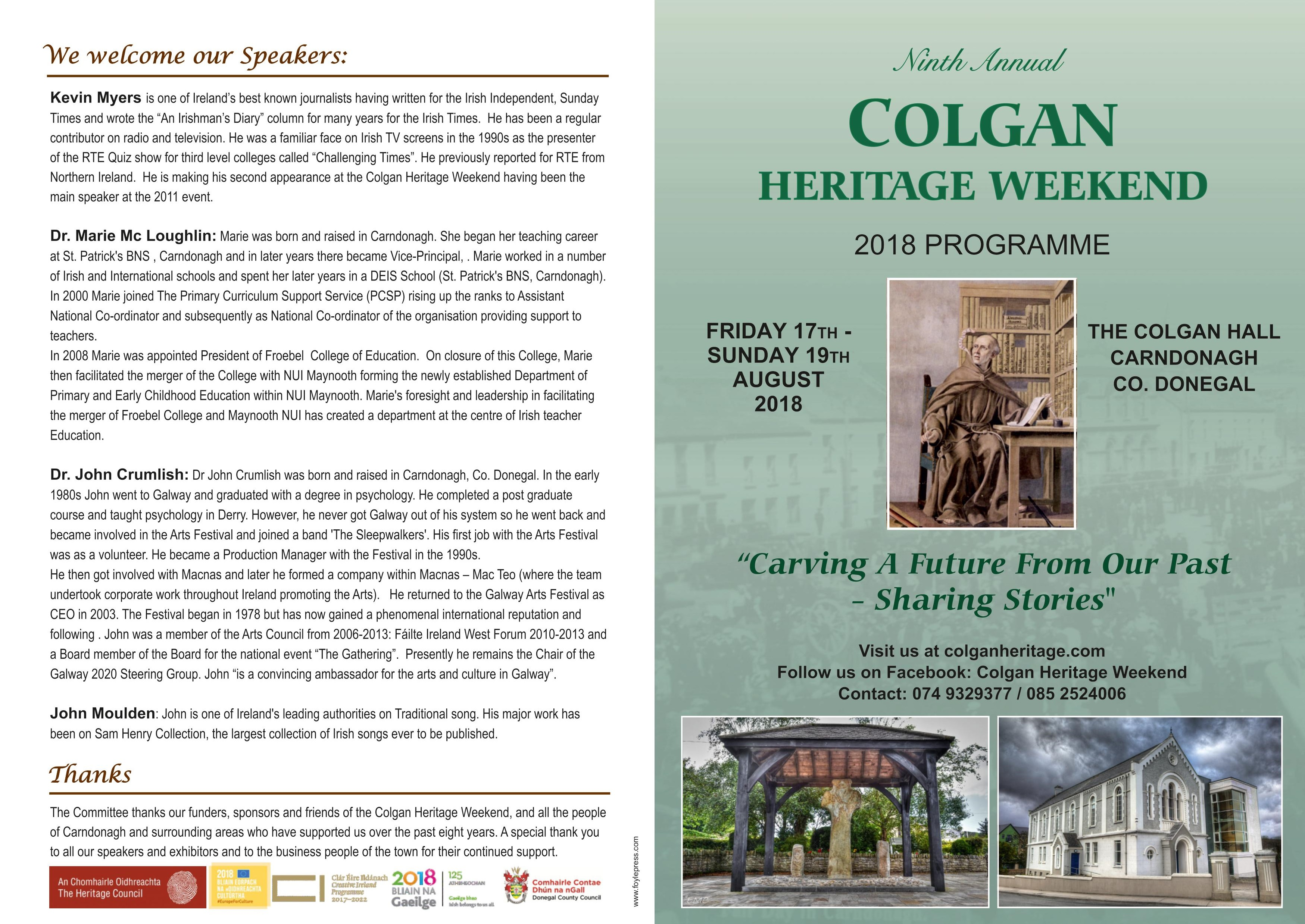 Colgan Heritage Weekend | Donegal Gathering | Festivals & Events in ...