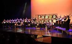 The 30 member Pipes, Bombards and Drums band, Bagad Bleidi Kamorah, will perform at the special Breton Festival Club Night at the Mount Errigal Hotel, Letterkenny, on Wednesday night, April 23rd, from 8.00pm.